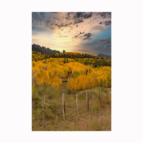 """Aspen Cabin"" by Texas photographer Mark Holly 