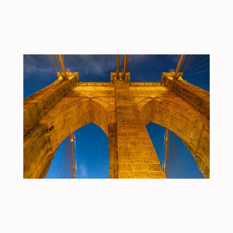 """Brooklyn Bridge up Close"" 