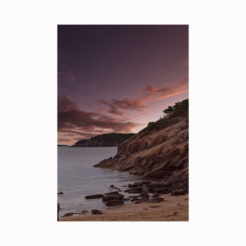 """Acadia Sunset"" by Texas photographer Mark Holly 