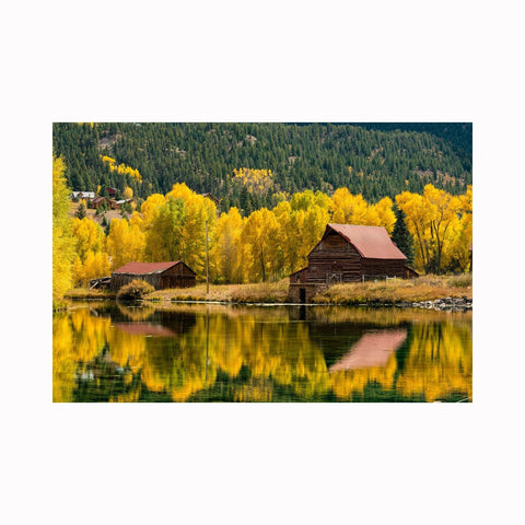 """Lake City Reflections"" by Texas photographer Mark Holly 
