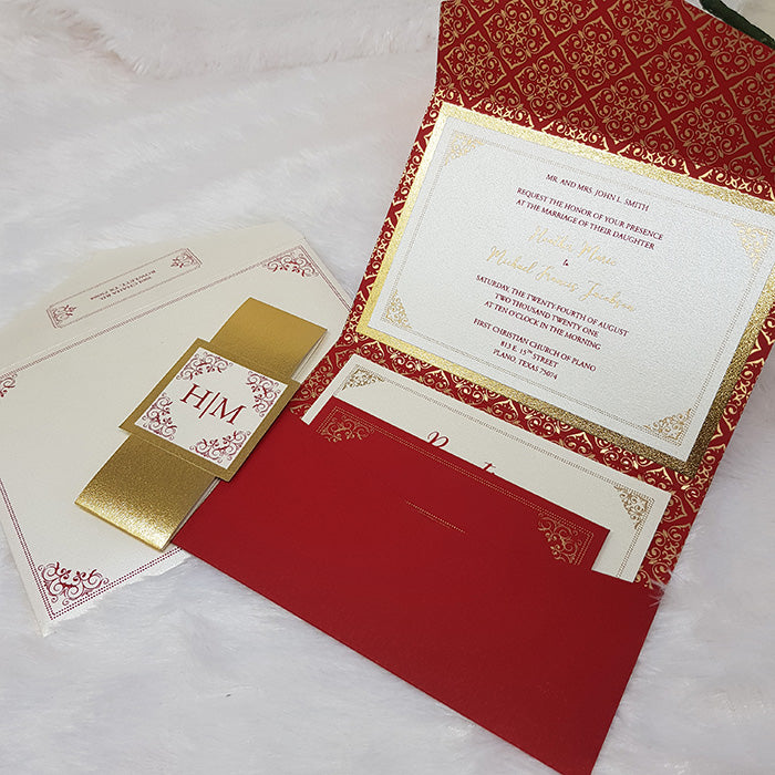 Custom Wedding Invitation Printing, Personalize Wedding Stationery