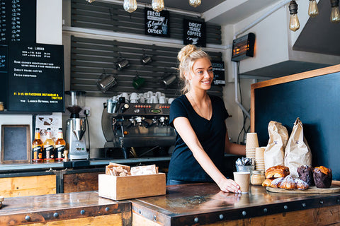 coffee bar barista