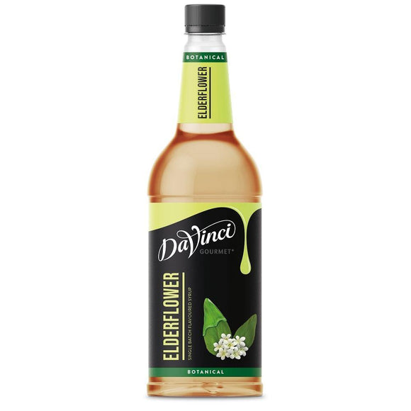 Cool Drinks - DaVinci Gourmet Botanical Elderflower Syrup