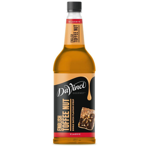 Cool Drinks - DaVinci Gourmet Classic Cream English Toffee Nut Syrup