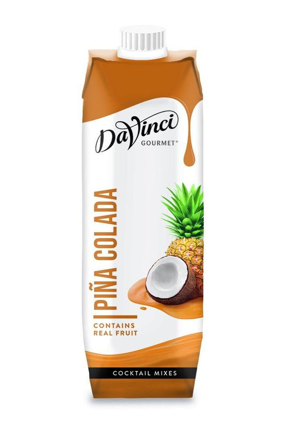 Cool Drinks - Island Oasis - DaVinci Gourmet Classic Piña Colada - Cocktail Mix
