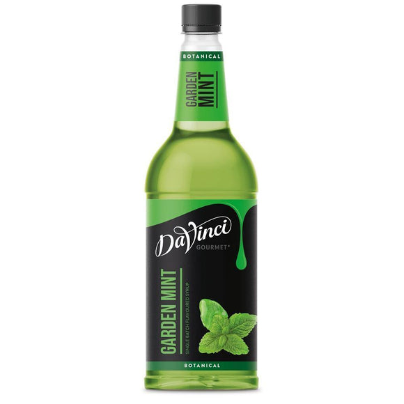 Cool Drinks - DaVinci Gourmet Botanical Garden Mint Syrup