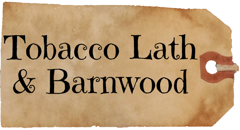 Tobacco Lath and Barnwood