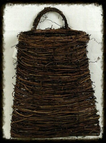 Vine Pocket Wall Basket with Handle - Especially For You Home Decor