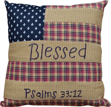americana blessed pillow especially for you home decor - Americana Home Decor