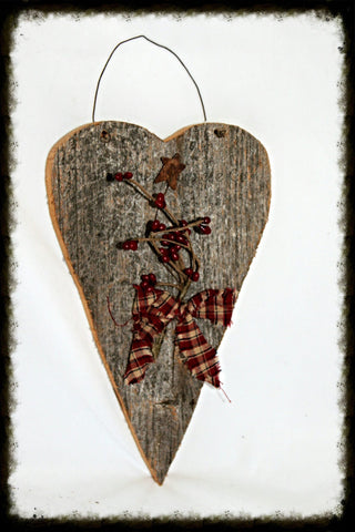 Large Barnwood Heart - Especially For You Home Decor