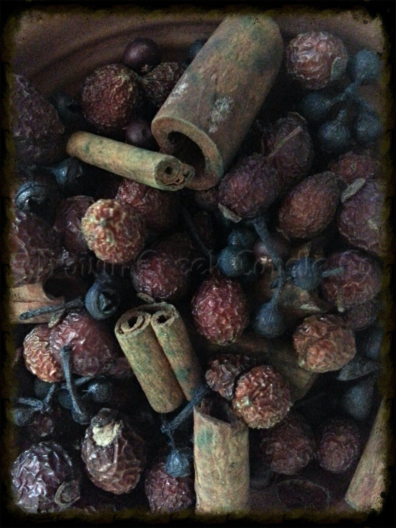 Country Hips and Sticks Blueberry Fixins