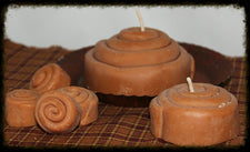All-Natural Soy Cinnamon Bun Candles