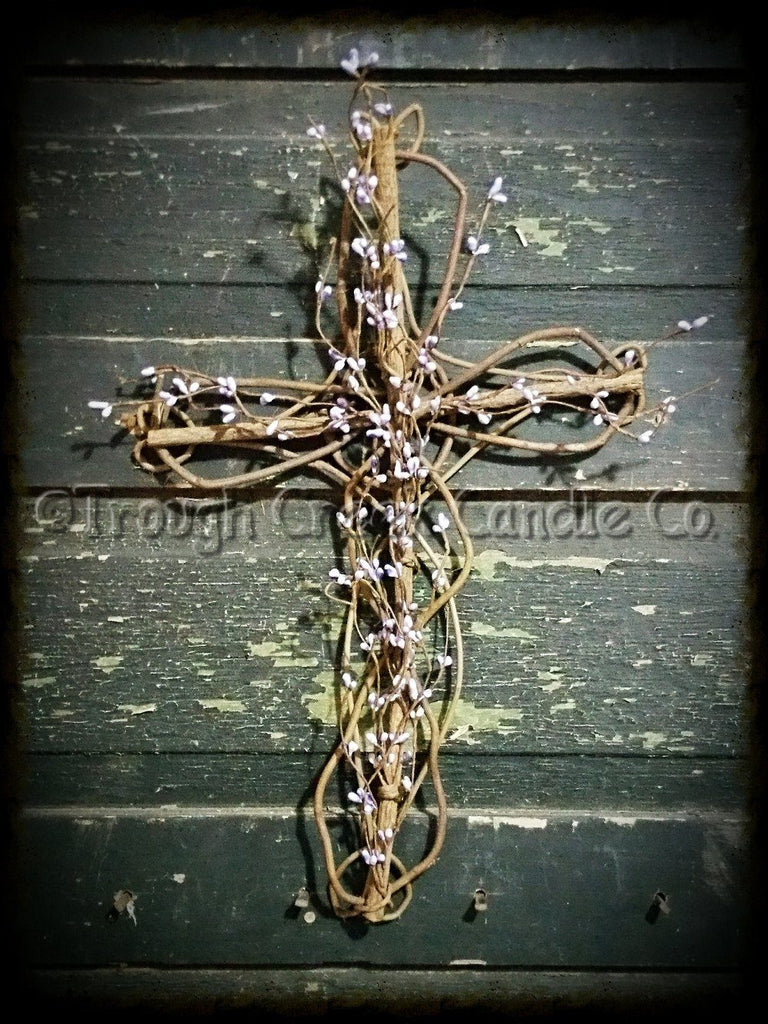 Pip Berry Grapevine Cross ~ Wholesale