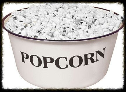Enamelware POPCORN Bowl - Especially For You Home Decor