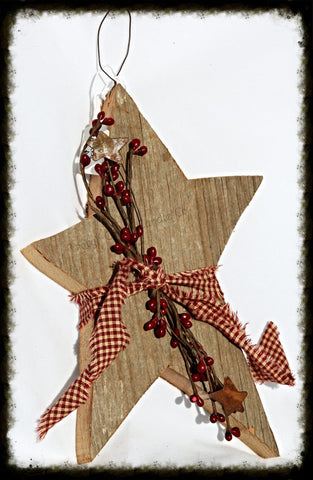Large Barnwood Star - Especially For You Home Decor