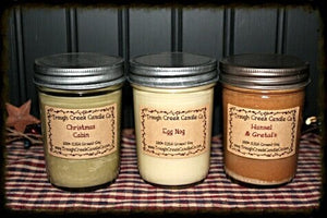 100% Soy Large Jelly Jar Candle - Especially For You Home Decor