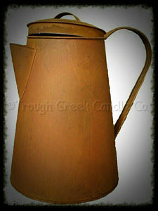 Rusty Coffee Pot - Especially For You Home Decor
