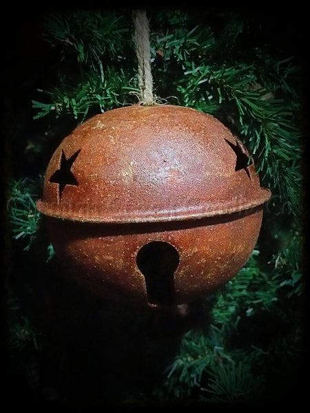 Large Rusty Jingle Bell