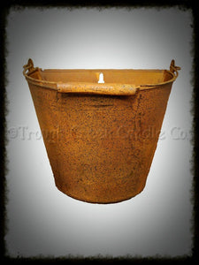 Rusty Wall Bucket