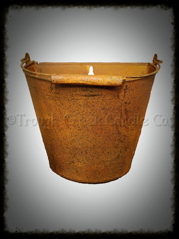 Rusty Wall Bucket - Especially For You Home Decor