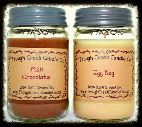 100% Soy Large Square Mason Jar Candle ~Wholesale - Especially For You Home Decor