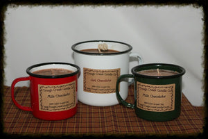 100% Soy Enamelware Mug Candles - Especially For You Home Decor