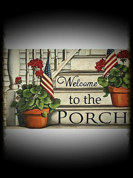 Patriotic Welcome Floor Mats - Especially For You Home Decor