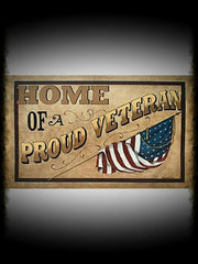 Patriotic Welcome Floor Mats
