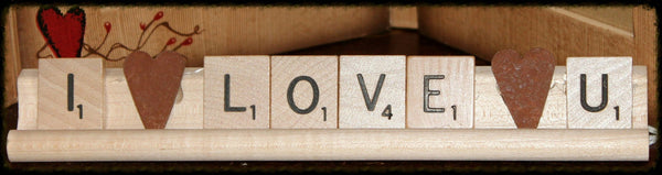 Personalized Scrabble Saying - Especially For You Home Decor