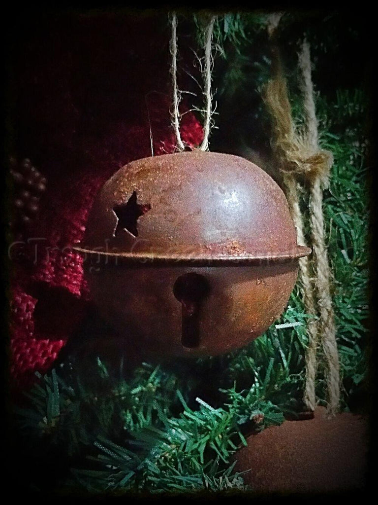 Small Rusty Jingle Bell