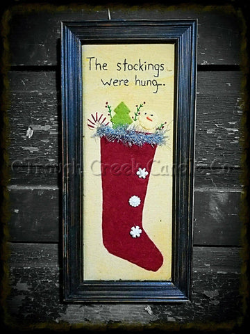 Christmas Stocking Sampler