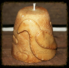 Primitive Star and Crow All Natural Soy Pillar Candle - Especially For You Home Decor