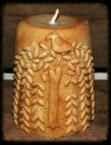 Primitive Willow and Crow All Natural Soy Pillar Candle - Especially For You Home Decor