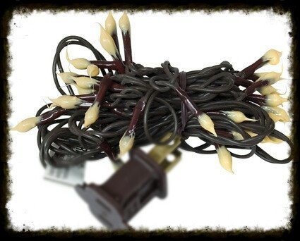 silicone tip teeny brown wire lights especially for you home decor. Black Bedroom Furniture Sets. Home Design Ideas
