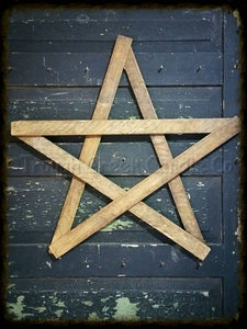24 Tobacco Lath Star - Especially For You Home Decor