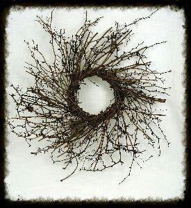Wild Twiggy Wreath Plain - Especially For You Home Decor