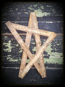 Whimsical Tobacco Lath Star