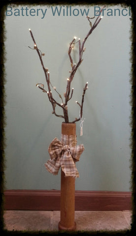 Country Willow Branch Spool - Especially For You Home Decor
