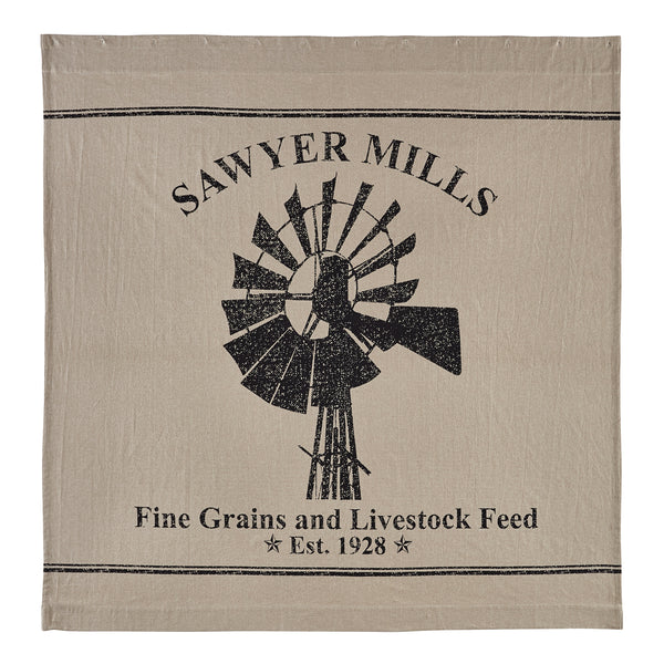 Sawyer Mill Charcoal-Shower Curtain-Especially For You Home Décor