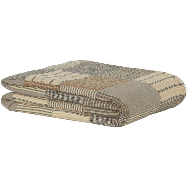 Sawyer Mill Charcoal-Quilt King-Especially For You Home Décor