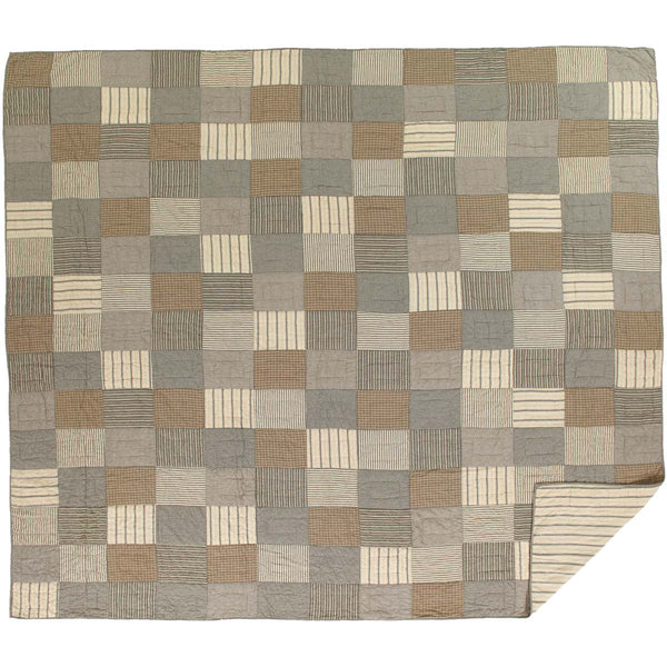 Sawyer Mill Charcoal-Quilt Luxury King-Especially For You Home Décor