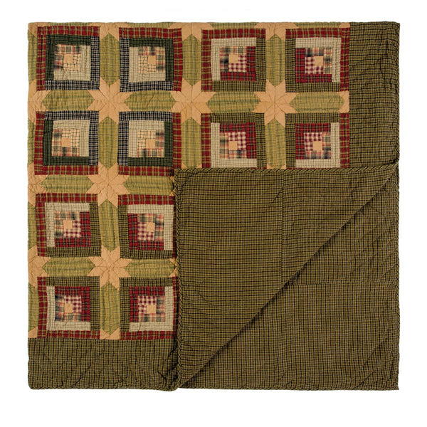 Tea Cabin-Quilt Luxury King-Especially For You Home Décor