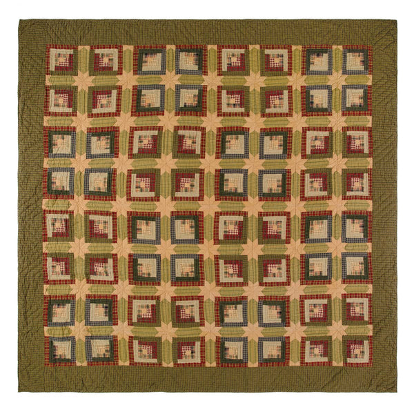 Tea Cabin-Quilt King-Especially For You Home Décor