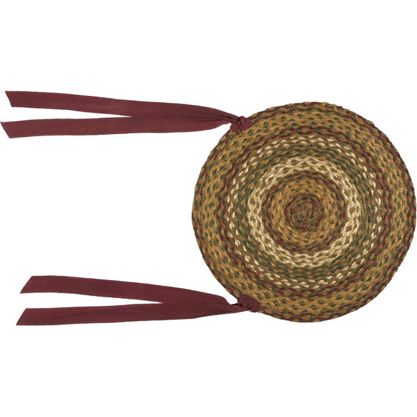Tea Cabin-Jute Chair Pad Set 6-Especially For You Home Décor
