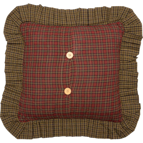 Tea Cabin-Pillow Filled Fabric 16x16-Especially For You Home Décor