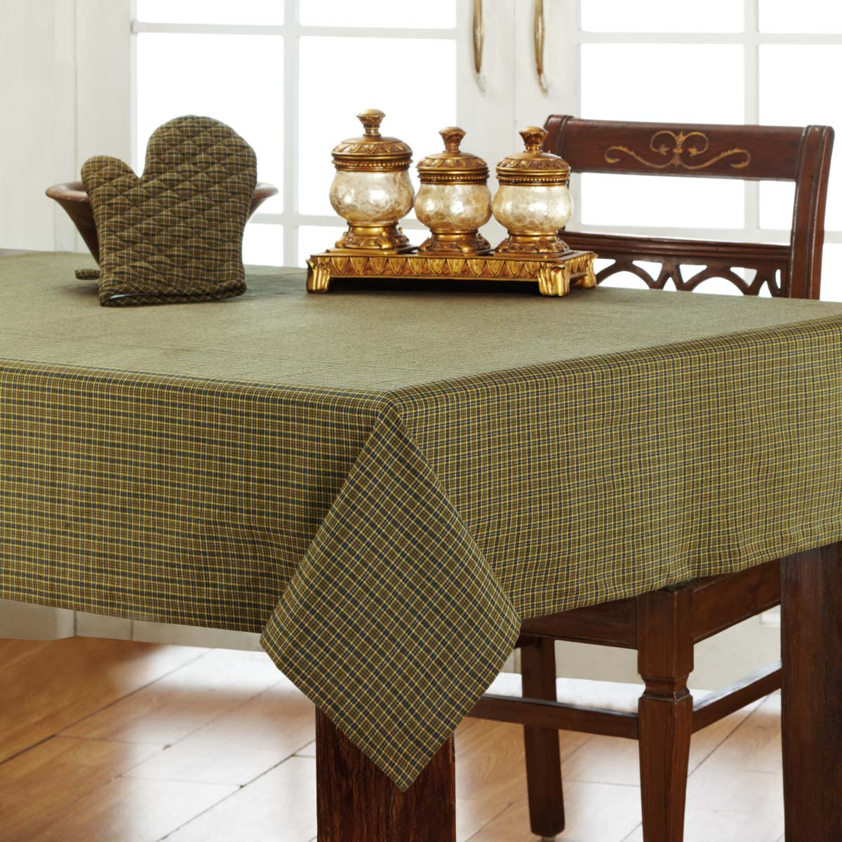 Tea Cabin-Table Cloth 60x80-Especially For You Home Décor