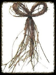 Bow Tie Twig - Especially For You Home Decor