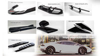 11-Piece Carbon Fiber Kit Package / Fits LP610 Coupe