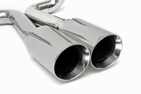 1990-2001 Lamborghini Diablo Supersport X-Pipe Exhaust System. Includes Factory Style Quad CHROME Tips.
