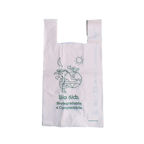 Bolsa compostable 42x50 my 14 camiseta
